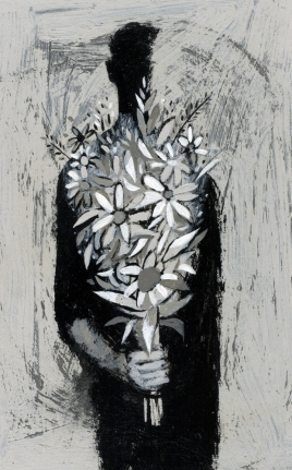 ANYTHING THAT ISN'T THIS - Frank bearing flowers