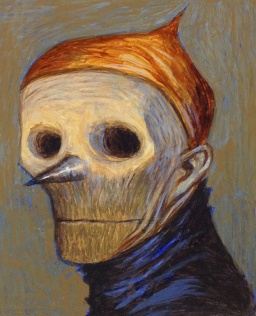 Sharp-nosed man